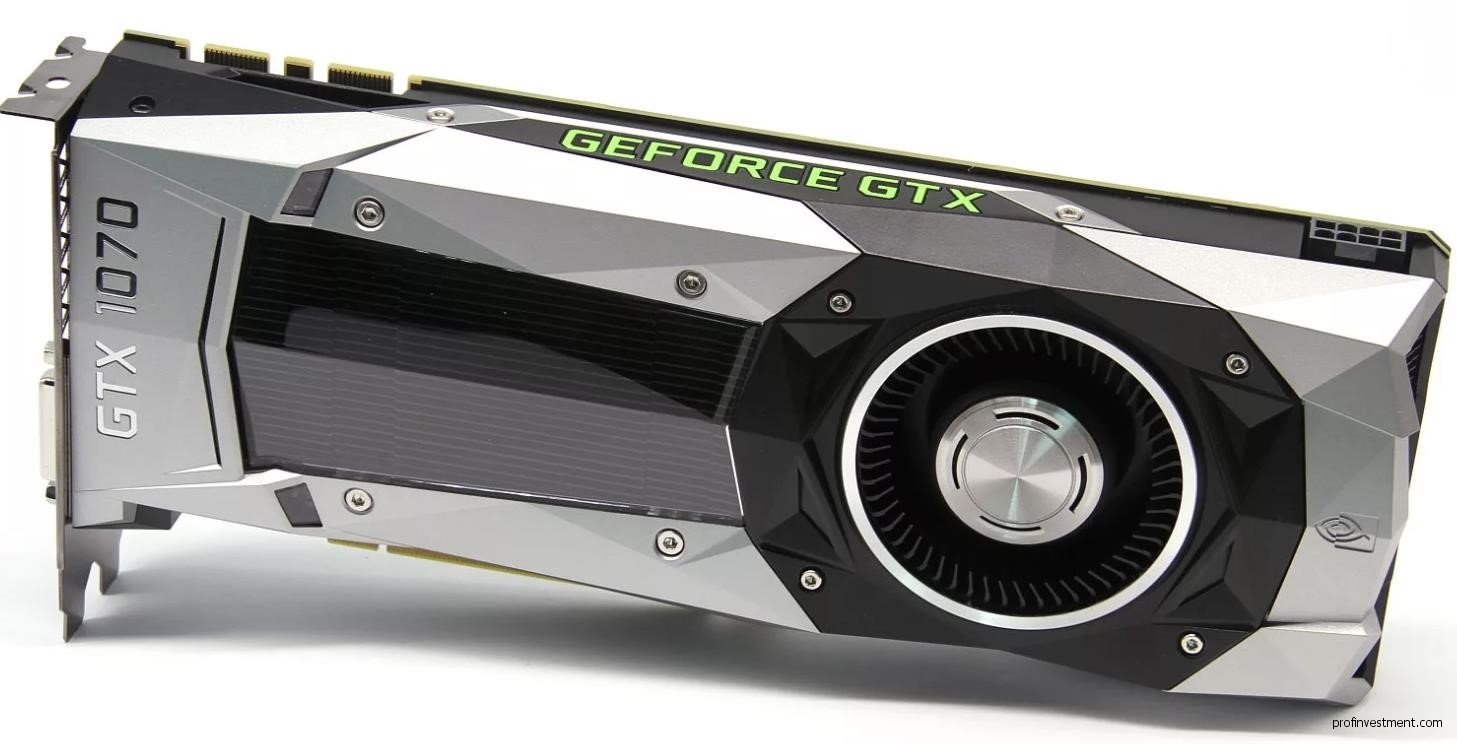 Видеокарта для майнинга Nvidia GeForce GTX 1070